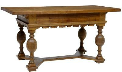 19Th Century Dutch Oak Small Refectory Dining Table