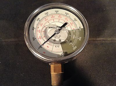 Enerpac Model GF-10P Pressure Gauge, 0 to 10000 psi, 4In, 1/2In