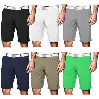 2016 Under Armour UA Match Play Flat Front Mens Funky Golf Shorts