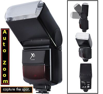 Automatic Zoom & Bounce Flash for Canon EOS Rebel T3 T3i XS XSi T5i SL1 T4i
