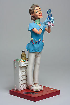 The Comic Art Of Guillermo Forchino Lady Dentist Figurine