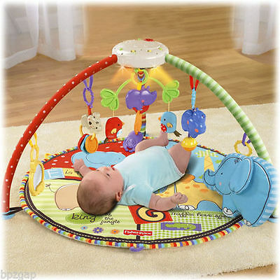 Fisher-Price Luv U Zoo Deluxe Musical Mobile Gym #T6339