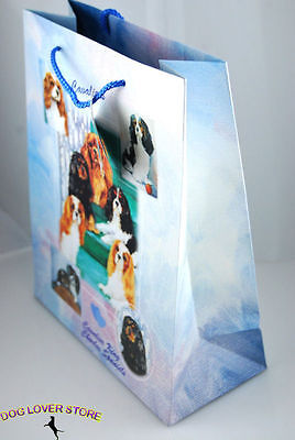Cavalier King Charles Dog Gift Present Bag