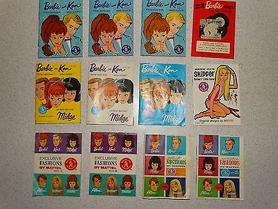 Barbie:  NICE Vintage BARBIE BOOKLETS Lot!