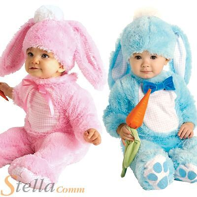 Toddler Boys Girls Cute Easter Bunny Rabbit Fancy Dress Costumes 0-18 Months
