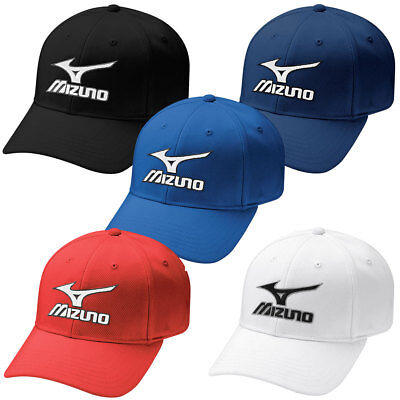 Mizuno Golf 2016 Mens Tour Fitted Cap Staff Performance Hat