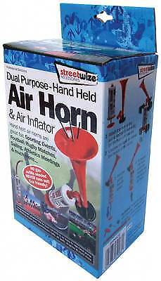 Hand Held Air Horn & Inflator - No Refills Needed - Football Sporting Events