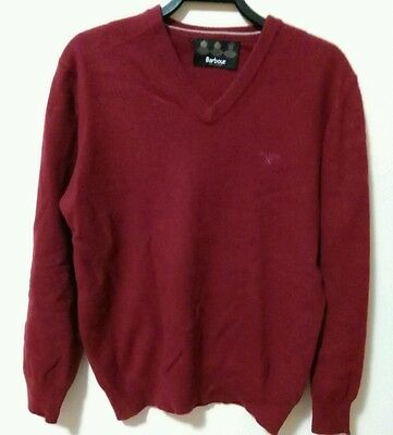 Barbour Maglione Vintage Uomo Tg S Barbour Sweater Vintage Man Tg S