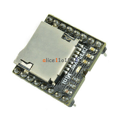 TF Card U Disk Mini MP3 Decoder Player WMV Audio Voice Module DFPlayer  Arduino