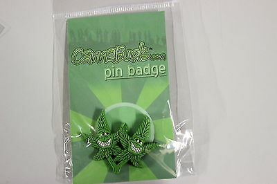 Cannabuds Pin Badge - Two Faces #4