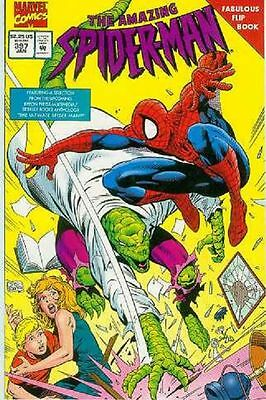 Amazing Spiderman # 397 (flip-book, 48 pages) (Mark Bagley) (USA,1995)