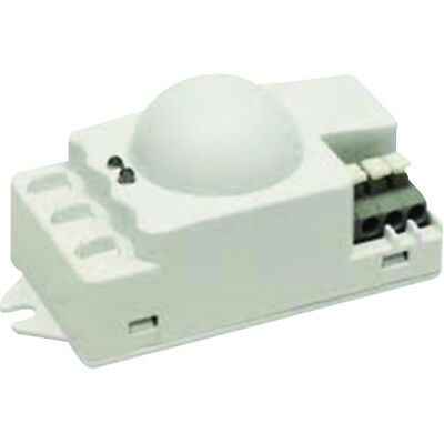 Knightsbridge IP20 Microwave Indoor Motion Sensor Surface Mounted White