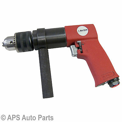 "New 1/2"" Reversible Air Drill Forward & Reverse Function 90 PSI Max 700RPM"