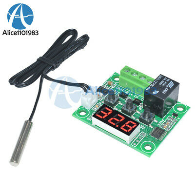 DC12V Red W1209 Digital thermostat Temperature Controler -50-110°C  + Sensor