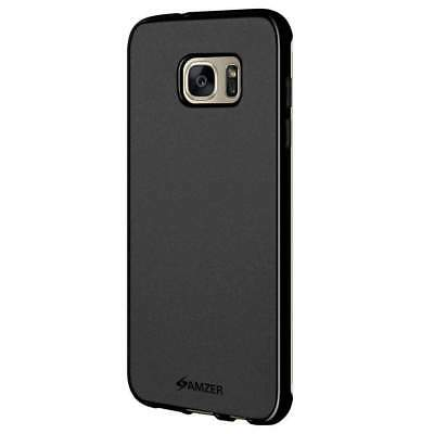 Amzer Pudding Tpu Skin Fit Back Case Cover For Samsung Galaxy S7 Edge Sm-G935F