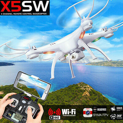 Syma X5SW Explorers RC Quadcopter Drone with Camera WIFI FPV Android IOS iphone