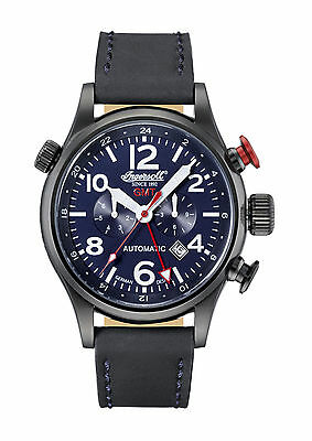 Ingersoll  Herren Armbanduhr Lawrence GMT IN3218BBL - Active Watches