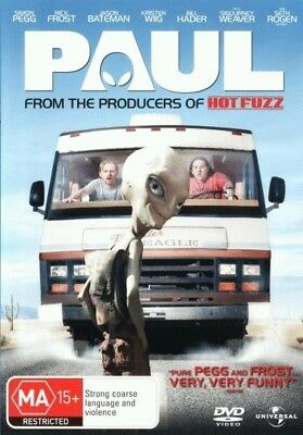 Paul - Simon Pegg, Nick Frost from Shaun Of The Dead DVD R4 New!