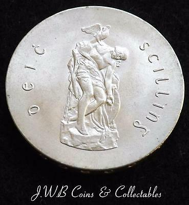 1966 Ireland Padraig Pearse Silver 10 Shillings Coin.