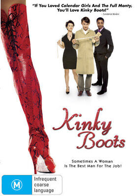 Kinky Boots - if you loved Calendar Girls & The Fully Monty DVD R4 New!