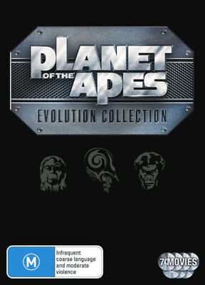 Planet Of The Apes Evolution Collection Box Set DVD R4 Brand New!!