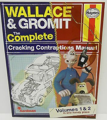 Haynes - Wallace & Gromit The Complete Cracking Contraptions Manual    204 Pages