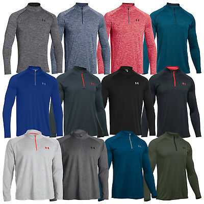 Under Armour Mens Tech Half Zip Top - New Training Gym Pullover Sweater Ua 2017