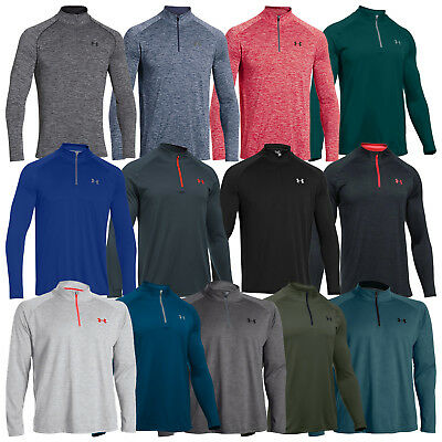Under Armour Mens Tech Half Zip Top -New Training Gym Golf Pullover Sweater 2018