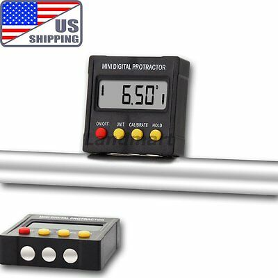 US Digital Inclinometer Protractor Angle Meter Finder Saw Setting Machine