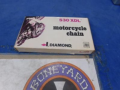 Diamond Chain 530 Xdl 110 Link Motorcycle Chain Final Drive Harley Custom # Xlo