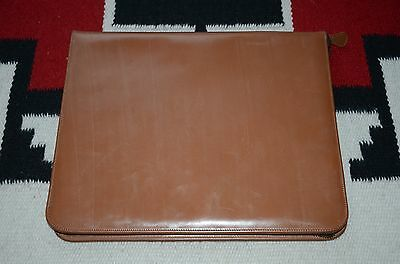 Ralph Lauren RRL Hand Made In England Bridle Leather Portfolio Document Case
