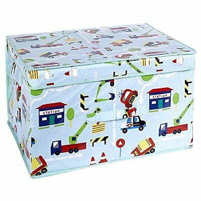 Traffic Design Foldable Pop Up Room Tidy and Storage Chest - Funky Design!