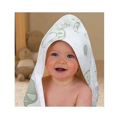 Hooded Baby Towel Supersoft Hooded Bath Towel Unisex Elli & Raff Design NEW