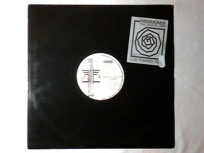 "MIMMOMIX feat. JULIA ST. LOUIS Luv found you 12"" ITALO ZONE COME NUOVO LIKE NEW!"