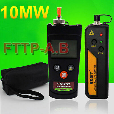 Mini Fiber Optic power meter 10MW Visual Fault Locator Fiber Optic Cable tester