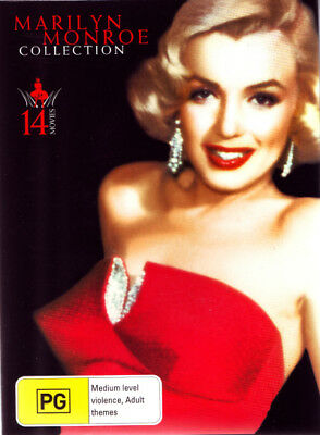 Marilyn Monroe Collection Box Set 14 Movies  R4 Brand New!!!