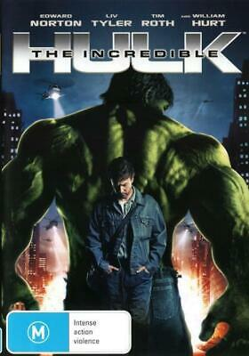 The Incredible Hulk (2008 / Edward Norton) DVD R4 Brand New!