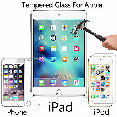 Gorilla HD Genuine Tempered Glass Screen Protector Pro Cover for Apple Models
