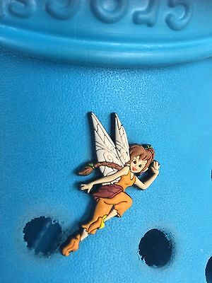 Genuine Jibbitz Disney Fairy Fawn Shoe Charm For Crocs & Wristbands. Free UK P&P