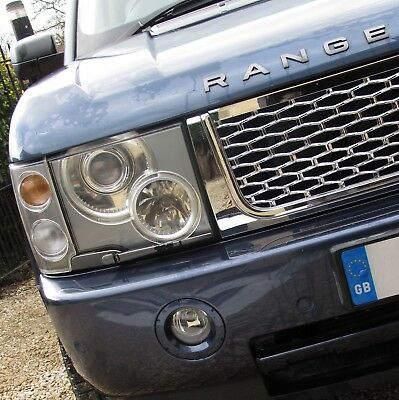 Full Chrome Autobiography style front GRILLE upgrade for Range Rover L322 2002