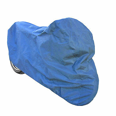 Motorcycle Motorbike Internal Dust Polyester Breathable Indoor Cover Blue