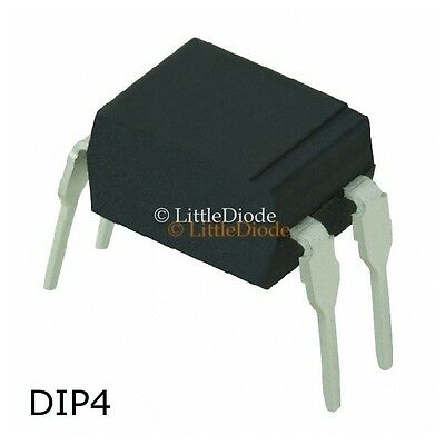 PC123 Opto Optocoupler Case DIP4 Make Sharp Microelectronics
