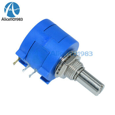 5PCS 10K Ohm 3590S-2-103L Rotary Wirewound Precision Potentiometer Pot 10 Turns