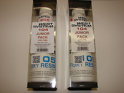 GP OUEST SYSTÈME Junior Paquet 600g Epoxy Resin + Plus solide 105/205 ou105/206