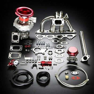 H23 BB2 T04E STAGE II TURBO CHARGER MANIFOLD UPGRADE KIT FOR 92-96 PRELUDE Si