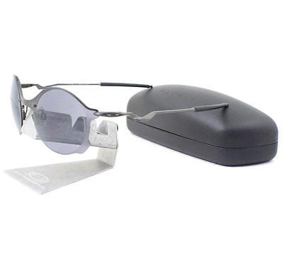 07c5a92b3 OAKLEY OO 4088-05 TAILEND Carbon Grey Mens Wire Collector Sunglasses ...