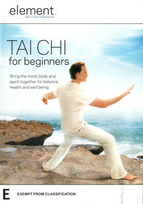 Element Tai Chi For Beginners - Mind Body Spirit Fitness Exercise DVD R4 New! *