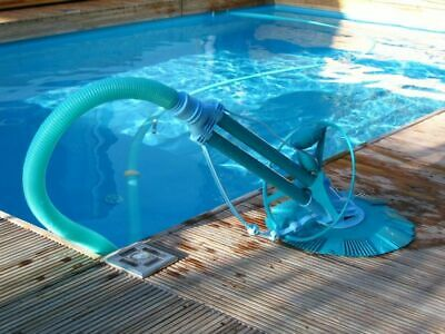 Automatischer Bodensauger Bodenreiniger Poolcleaner Pool Schwimmbad Sauger