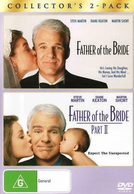 Father Of The Bride / Father Of The Bride Part II - 1 & 2 Box Set DVD R4 New! *
