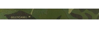 """Double Sided Crye Multicam TROPIC Camouflage Military Spec 25mm / 1"""" Webbing"""
